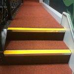 Commercial stairs carpoet with Safety nosings